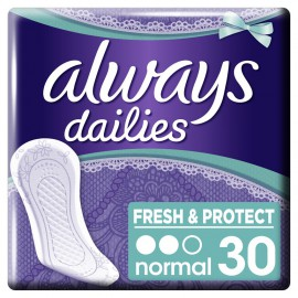 Always Dailies Fresh & Protect Normal Fresh Σερβιετάκια 30τμχ.