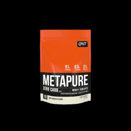 QNT Metapure Zero Carb Whey Isolate Protein Powder White Chocolate 480gr