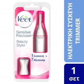 Veet Sensitive Precision Ηλεκτρικό Τρίμερ 1 συσκευή + 7 αξεσουάρ