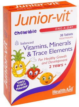 HEALTH AID JUNIOR VIT™ TABLETS 30S -BLISTER
