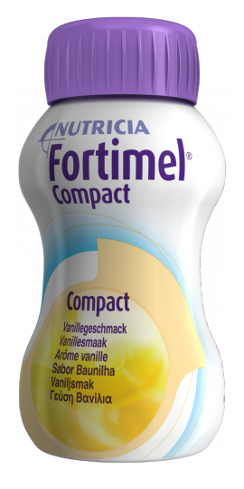 NUTRICIA FORTIMEL COMPACT ΒΑΝΙΛΙΑ 4 X 125ML