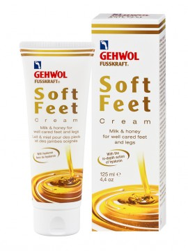 GEHWOL Fusscraft Soft Feet Cream με Μέλι & Γάλα 125ML