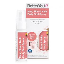 BetterYou Hair Skin & Nails Daily Oral Spray 25ml