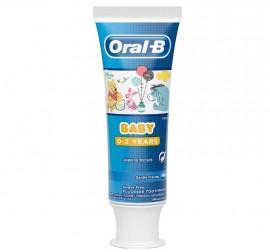 Oral-B Baby Disney Winnie The Pooh Οδοντόκρεμα 0-2 Ετών 75ml