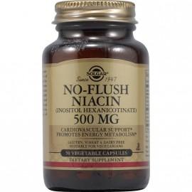 SOLGAR NO FLUSH NIACIN 500MG 50VCAP