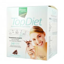 Power Health Top Diet με Γεύση Σοκολάτα 350gr