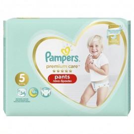 Pampers Premium Care Pants Μέγεθος 5 12-17Kg 34 Πάνες-Βρακάκι
