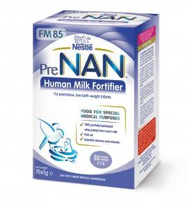 Nestle Pre Nan Human Milk Fortifier Ενισχυτικό Μητρικού Γάλακτος 70 x 1gr