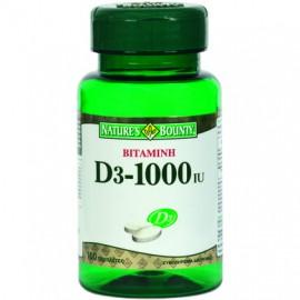 Natures Bounty Βιταμίνη D3 1000IU 100tabs