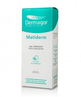 Dermagor Matiderm Purifying Gel Καθαριστικό Προσώπου 200ml