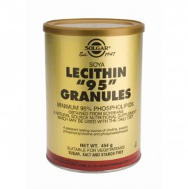 SOLGAR LECITHIN 95 GRANULES 454GR