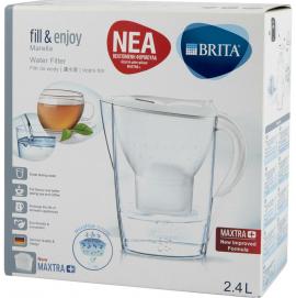 Brita Κανάτα Φιλτραρίσματος Νερού Marella Cool 2,4lt Fill & Enjoy 1τμχ + Ανταλλακτικό Maxtra 1τμχ