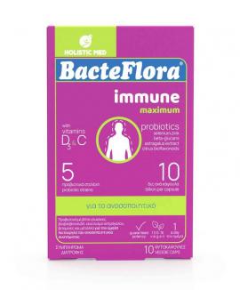 Holistic Med Bacteflora Immune Maximum 10 φυτοκάψουλες