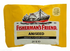 Fishermans Friend Καραμέλες με Γεύση Γλυκάνισο Sugar free (ΚΙΤΡΙΝΟ) 25gr