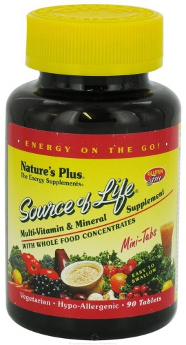 NATURES PLUS SOURCE OF LIFE MINI TABS 90TABS