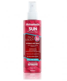 Histoplastin Sun Protection Face & Body Invisible Mist Spray SPF30 200ml