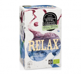 Am Health Royal Green Herbal Infusion Relax 16 φακελάκια