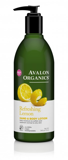 Avalon Organics Refreshing Hand & Body Lotion Lemon 355ml