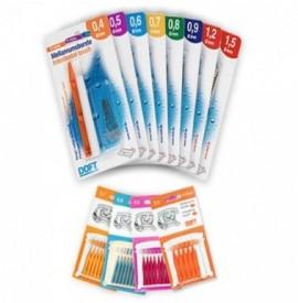 Doft Interdental Brush Μεσοδόντια Βουρτσάκια 1,2mm 12τμχ