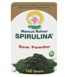 Marcus Rohrer Spirulina Raw Powder 150gr