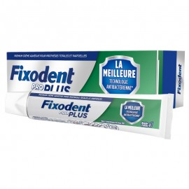 Fixodent Pro Plus Best Antibacterial Technology με Γεύση Μέντας 40gr