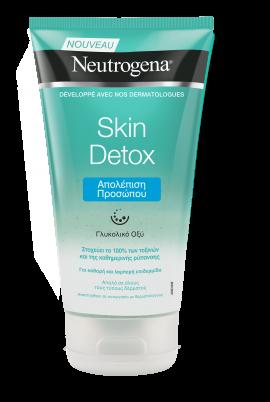 Neutrogena® Skin Detox Scrub Απολέπιση Προσώπου 150ml