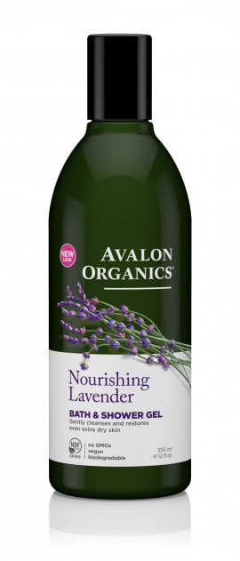 Avalon Organics Nourishing Lavender Bath & Shower Gel 355ml