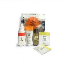 Youth Lab Summer Set Daily Sunscreen Cream Spf50 50ml + Youth Lab Dry Oil 50ml + Youth Lab Thirst Relief Mask 2x6ml + Youth Lab Body Guard Spf30 100ml