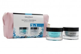 Galenic Set Masque de Beaute Hydratant 50ml & Masque Froid Purifiant 50ml