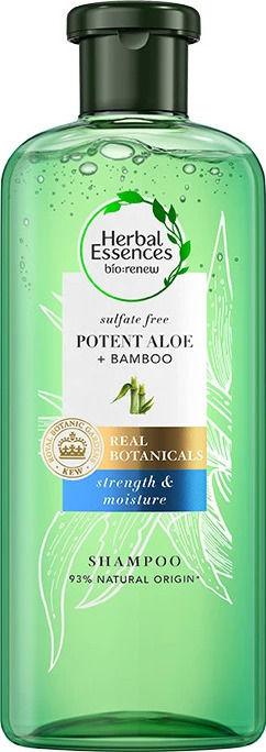 Herbal Essences Pure Potent Aloe + Bamboo Shampoo 380ml