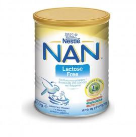Nestle Nan Lactose Free Βρεφικό Γάλα σε Σκόνη από τη Γέννηση 400gr