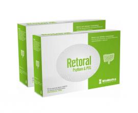 WinMedica Promo 1+1 Retoral Psyllium & PEG Για την Αντιμετώπιση της Δυσκοιλιότητας Περιστασιακής ή Χρόνιας 12x3g Φακελίσκοι