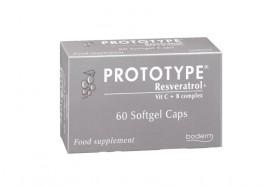 Boderm Prototype Resveratrol + Vit C + B Complex 60 softgel caps