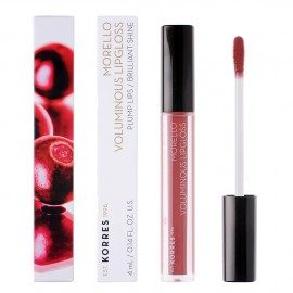 Korres Morello Voluminous LipGloss 23 Natural Purple 4ml