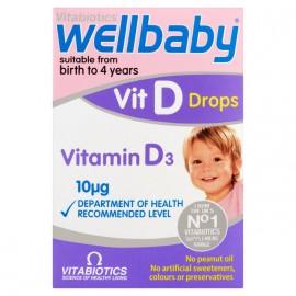 VITABIOTICS WELLBABY Vit D Drops 30ml