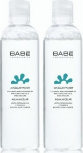 Babe Essentials Micellar Water Μικυλλιακό Νερό Ντεμακιγιάζ, 2 x 250ml - 50% Στο 2ο ΠΡΟΪΟΝ