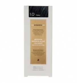 KORRES Abyssinia Superior Gloss Colorant 1.0 Μαύρο 50ml