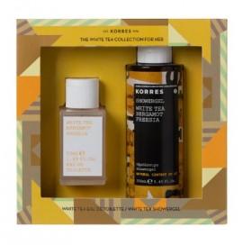 Korres Set White Tea Bergamot Freesia 50ml & Shower Gel  White Tea Bergamot Freesia 250ml