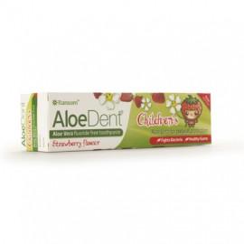OPTIMA Aloe Dent Strawberry Childrens Toothpaste 50ml