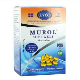 Medichrom Murol Μουρουνέλαιο 60 Softgels