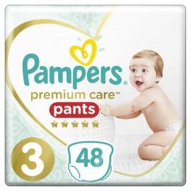 Pampers Premium Care Pants Μέγεθος 3 6-11kg 48 Πάνες-Βρακάκι