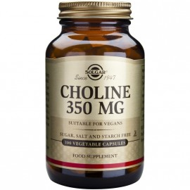 SOLGAR CHOLINE 350MG 100VCAP
