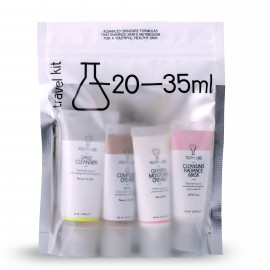Youth Lab Travel Kit Normal Skin Daily Cleanser for Normal-Dry Skin 35ml + Cleansing Radiance mask for All Skin Types 20ml + CC Complete Cream SPF30 for Normal-Dry Skin 20ml + Oxygen Moisture Cream for Normal Skin 20ml