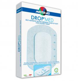 Master Aid Drop Med - 14x14cm (9x9) 5τεμ.