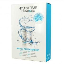 Synchroline Hydratime Plus Remover 200ml & Hydratime Plus 50ml Απαλό Gel Καθαρισμού, Σετ με κρέμα ενυδάτωσης προσώπου & λαιμόυ για ξηρές επιδερμίδες