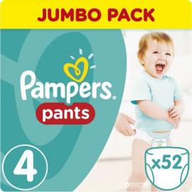 PAMPERS Pants Νο.4 (8-14 Kg) 52 Πάνες