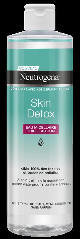 Neutrogena® Skin Detox 3σε1 Micellar Νερό καθαρισμού 400ml