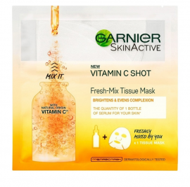 Garnier Skin Active Vitamin C Shot Fresh-Mix Tissue Mask 33gr