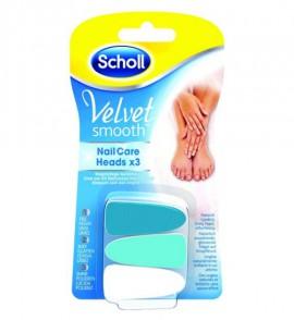 Scholl Velvet Smooth Ανταλλακτικά ηλεκτρικού συστήματος περιποίη