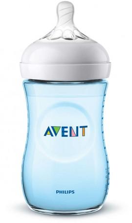Avent Natural Μπιμπερό 260ml - χωρίς BPA (ΜΠΛΕ) SCF035/17